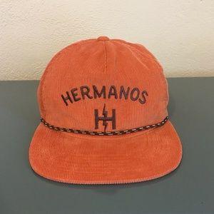 Howler Brothers Orange Corduroy Hermanos Cap Hat